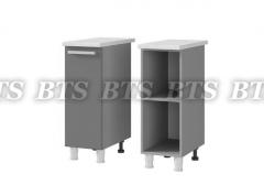 Шкаф-стол рабочий 1-дверный 3Р1