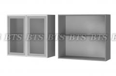Шкаф настенный 2-дверный 8В2