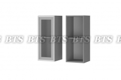 Шкаф настенный 1-дверный со стеклом 3В2