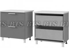 Шкаф-стол с 2-мя ящиками 8Р2