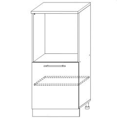 ШНВД 600 Шкаф нижний под духовку высокий кухня София