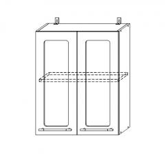 ШВС 600 Шкаф верхний со стеклом кухня София