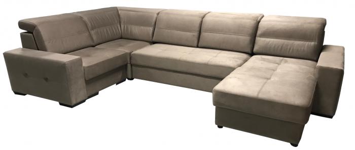 Большой угловой диван Престиж 17 - фото 2