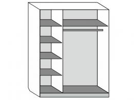 Шкаф-купе 3-х дверный - фото 2