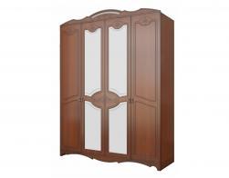 """Шкаф распашной 4-х дверный """"Лотос"""" (лак) - фото 1"""