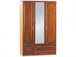 Шкаф распашной 3-х дверный (лак) - фото 1