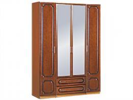 Шкаф распашной 4-х дверный (лак) - фото 1