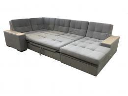 Большой угловой диван со спальным местом престиж 14 - фото 8