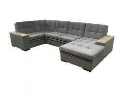 Большой угловой диван со спальным местом престиж 14 - фото 7