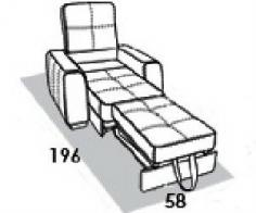 """Кресло-кровать """"Пекин"""" - фото 2"""