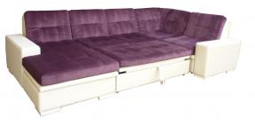 Большой угловой диван со спальным местом