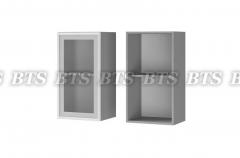 Шкаф настенный 1-дверный со стеклом 4В2