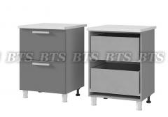Шкаф-стол с 2-мя ящиками 6Р2
