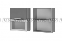 Шкаф настенный с дверями горизонтальными 6В3