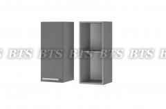 Шкаф настенный 1-дверный 3В1