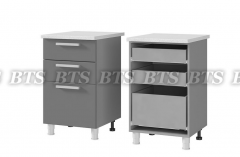 Шкаф-стол с 3-мя ящиками 4РЗ