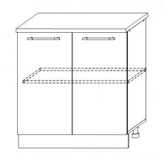 ШНМ 800 Шкаф нижний под мойку кухня София