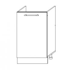 ШНМ 500 Шкаф нижний под мойку кухня София