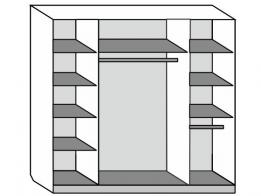 Шкаф-купе 4-х дверный - фото 2