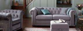 диван честерфил для гостиной