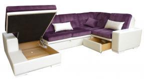 Большой модульный диван престиж 14 - фото 3