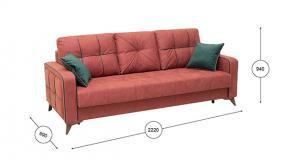 Диван-кровать черри - фото 2